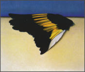 Wim Blom  Requiem for a Goldfinch 1997-8 Oil on canvas 38 x 45.5 cm