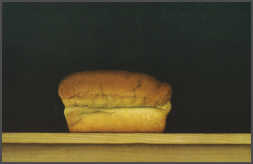 Wim Blom  Loaf of bread 1995 mixed media on paper 32 x 49 cm